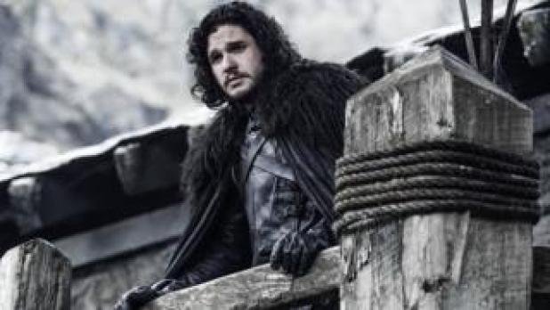 Kit Harrington as Jon Snow, in Game of Thrones