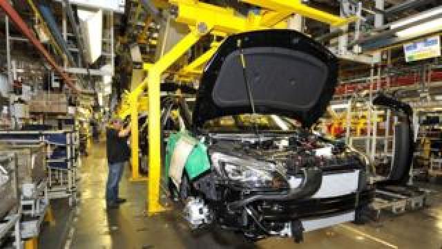 Vauxhall plant