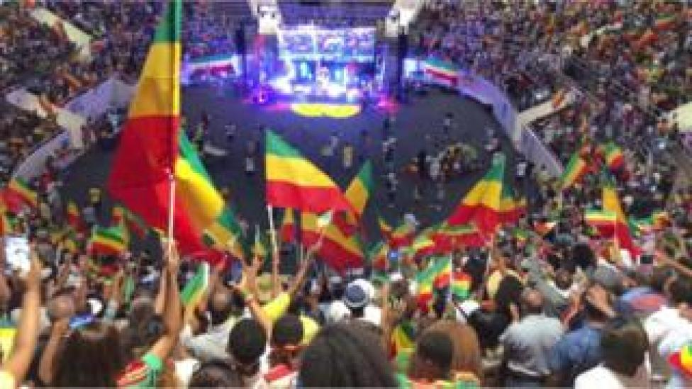 Ethiopian Day celebration in Dallas, Texas.