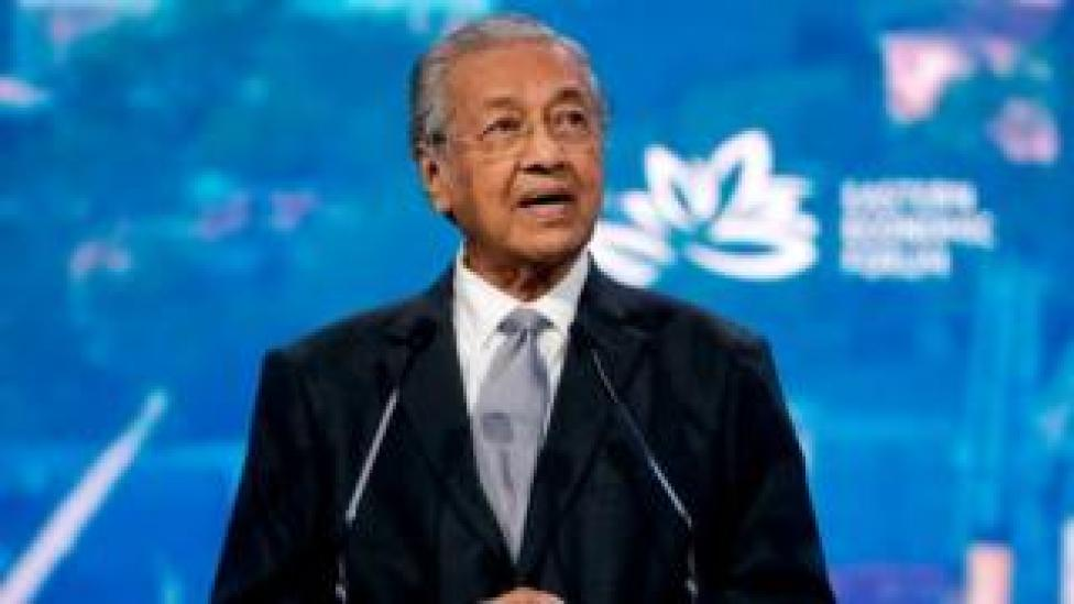 Malaysian Prime Minister Mahathir Mohamad, Sept 2019