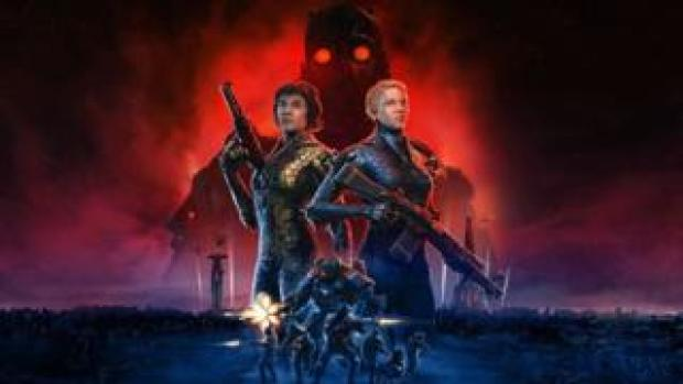 A promotional image for Wolfenstein: Youngblood
