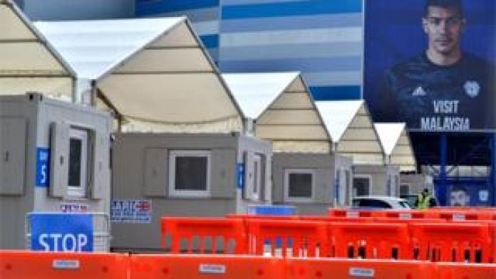 Cardiff City Stadium Test Center