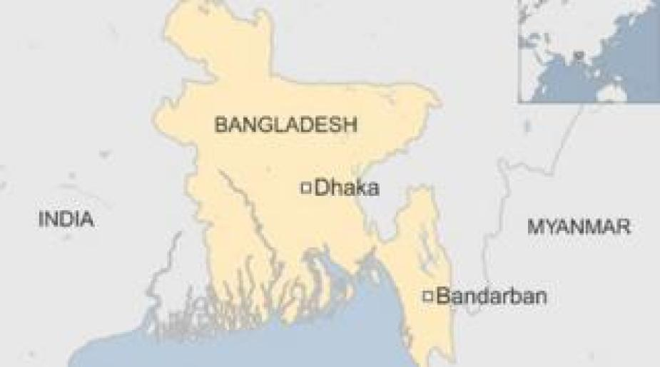 Bangladesh map