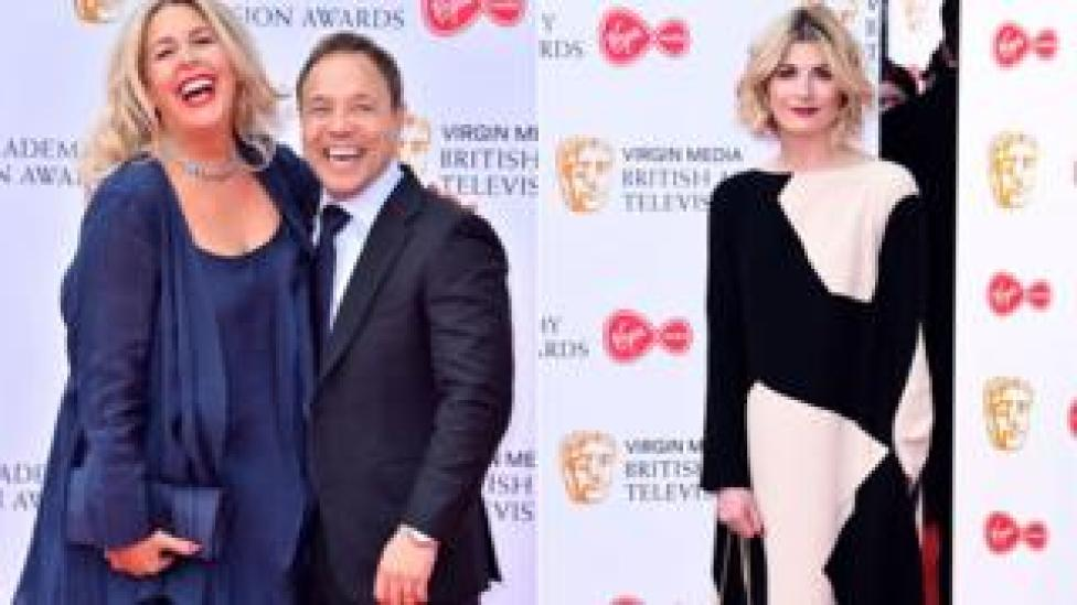 Hannah Walters and Stephen Graham; Jodie Whittaker