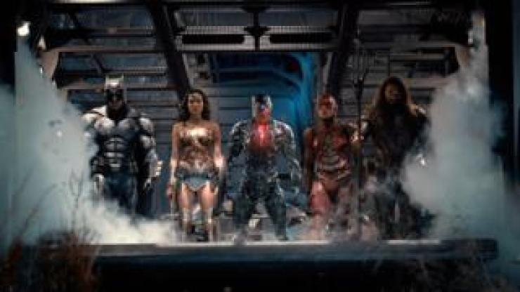 A still from Justice League