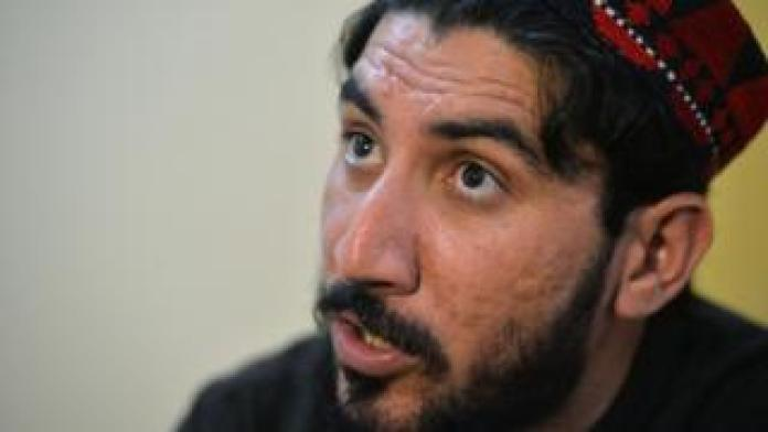 Food Manzoor Pashteen, leader of the Pashtun Protection Movement