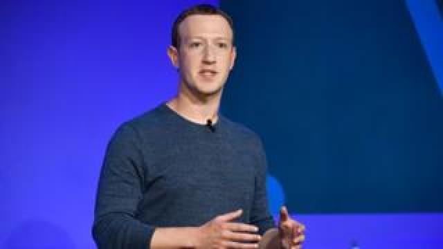 Facebook CEO Mark Zuckerberg speaks during a press conference in Paris on May 23, 2018