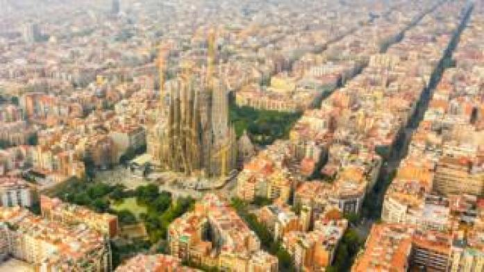 Barcelona and the Sagrada Familia