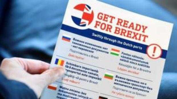 Dutch Brexit leaflet