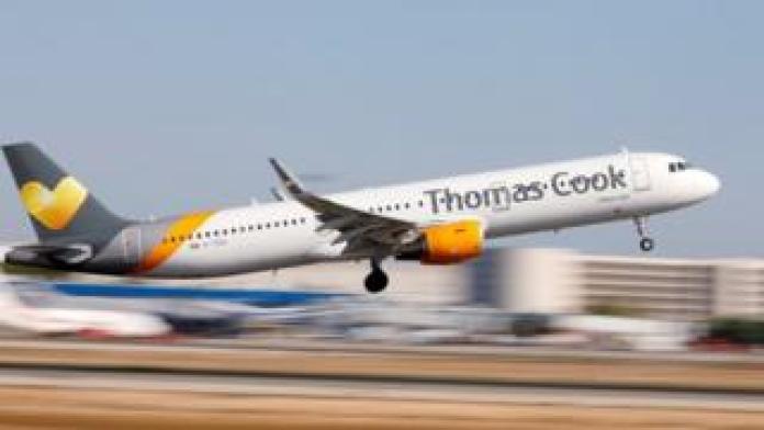 Thomas Cook plane