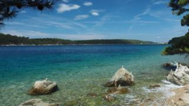An island picture from the Adriatic coast (file picture for illustration purposes)