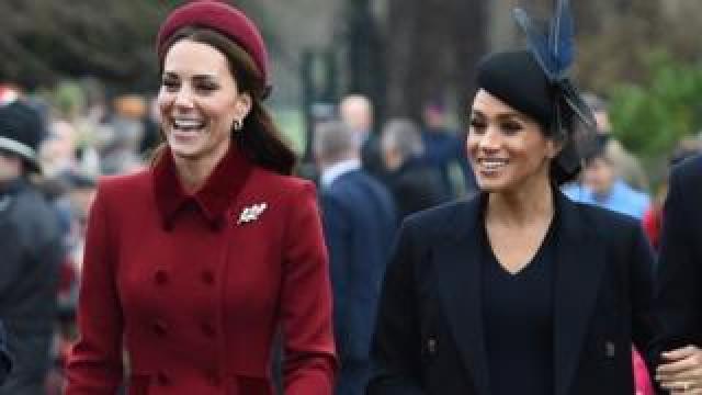 Duchesses of Cambridge and Sussex