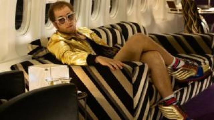 Taron Egerton appears as Elton John in Rocketman