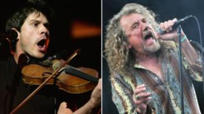 Seth Lakeman and Robert Plant