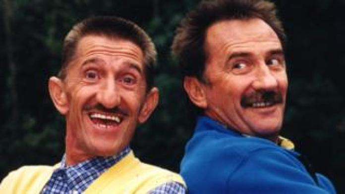 The Chuckle Brothers in 1996