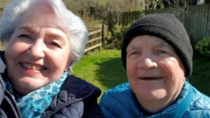 Geraldine Herdman-Grant and husband James Pratt