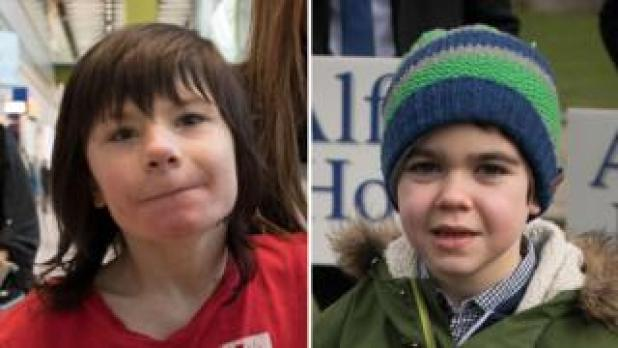 Billy Caldwell and Alfie Dingley both have a severe form of epilepsy