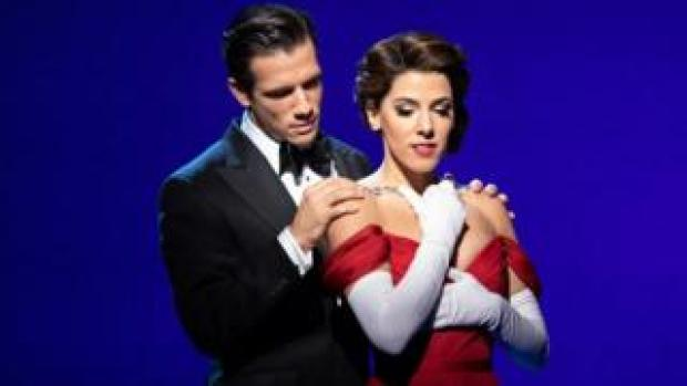 Danny Mac as Edward and Aimie Atkinson as Vivian in Pretty Woman