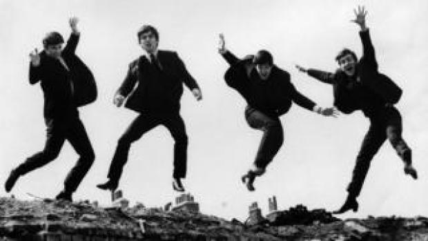 The Beatles photographed by Fiona Adams in 1963
