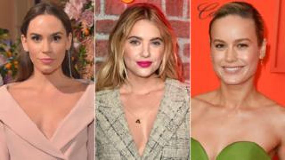 Christa B Allen, Ashley Benson and Brie Larson