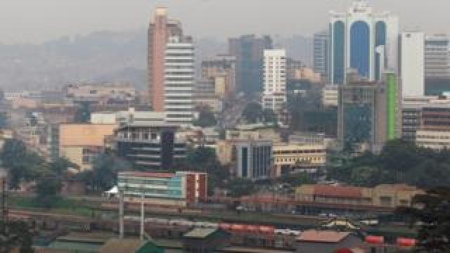 Kampala in Uganda