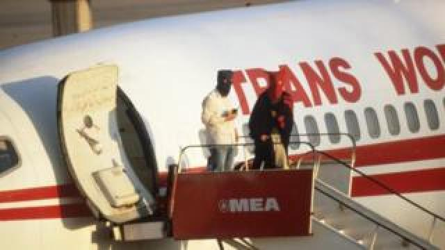 TWA Flight 847 out of Athens to Rome has been hijacked