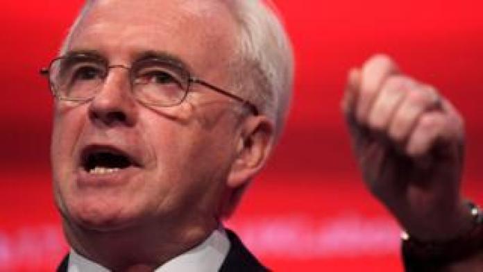 John McDonnell, Shadow chancellor