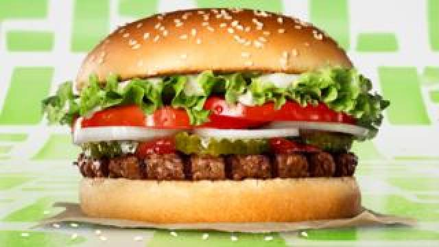 Burger King's new plant-based Rebel Whopper