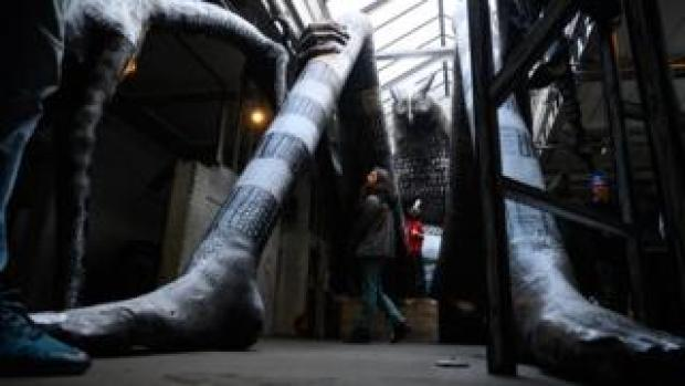 A giant by artist Phlegm