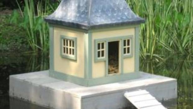 Sir Peter Viggers' duck house