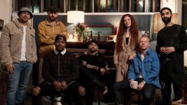 Rudimental, Dan Caplen, Jess Glynne and Macklemore