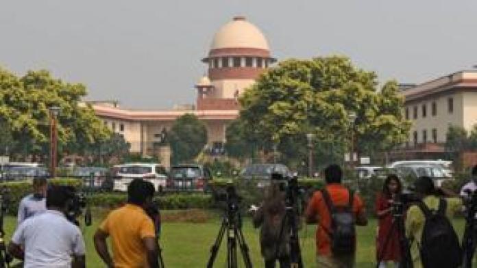India's Supreme Court in Delhi