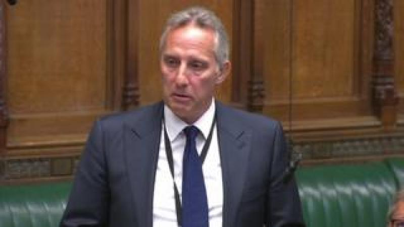Ian Paisley in the House of Commons