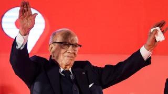 Tunisia's president Beji Caid Essebsi. File photo