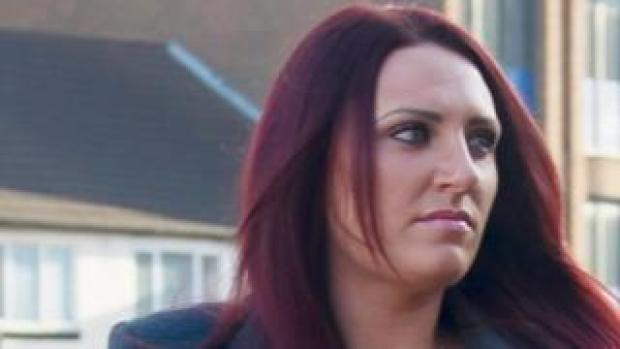Deputy leader of Britain First, Jayda Fransen