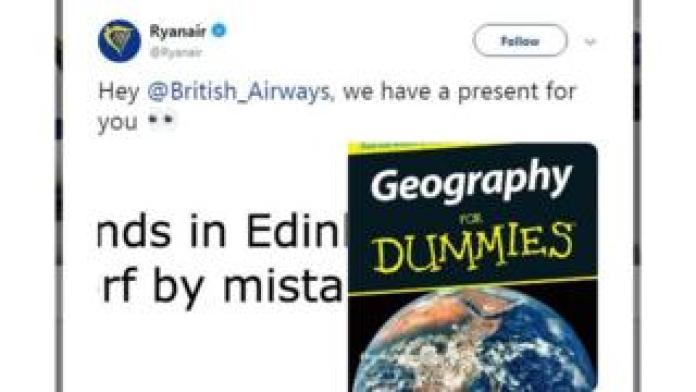 Ryanair-Tweet