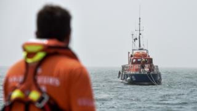 French SNSM rescuers, file pic, June 2019