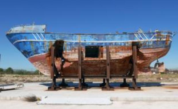 Barca Nostra hull