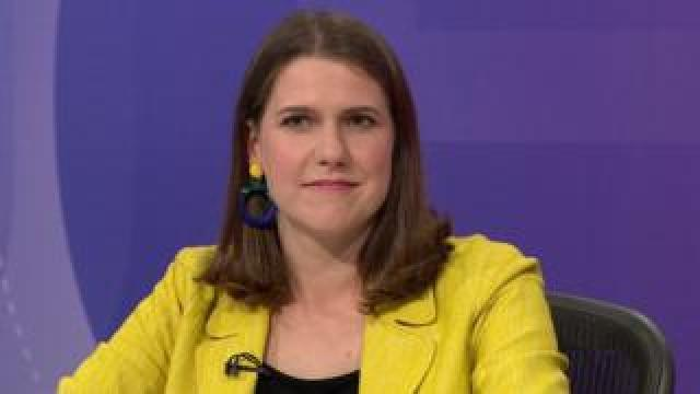 Jo Swinson on BBC Question Time