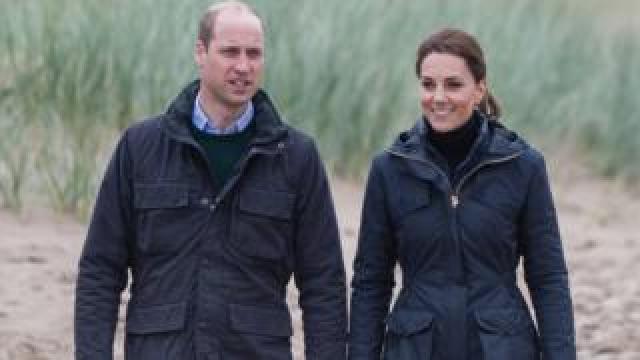 Duke and Duchess of Cambridge visit north Wales
