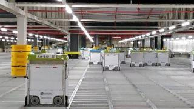 Ocado's grocery robots