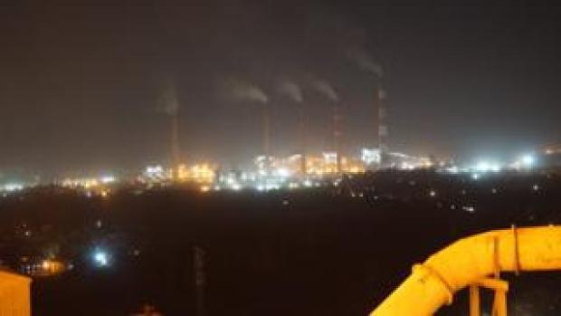 One of the coal-fired power plants in Korba district of Chhatisgarh district