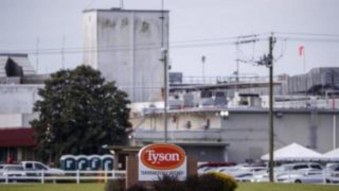 Tyson Foods Poultry Processing Plant in Temperanceville, VA