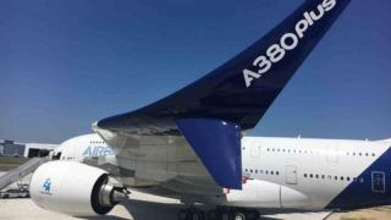New A380Plus wing design