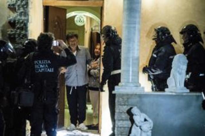 Eviction in Rome, 20 Nov 18