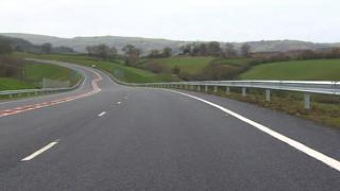 Brand new roadway without a single vehicle