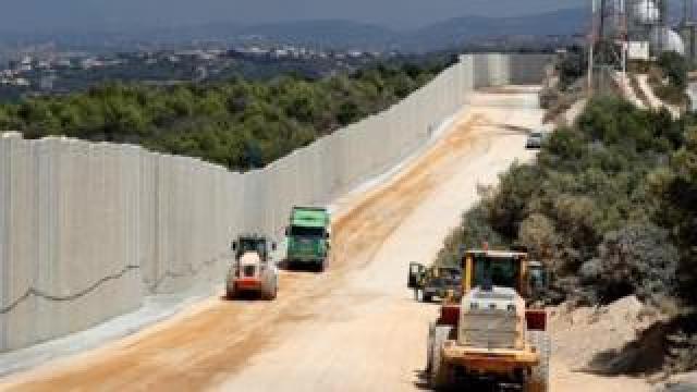 Israeli-Lebanon border (file photo)