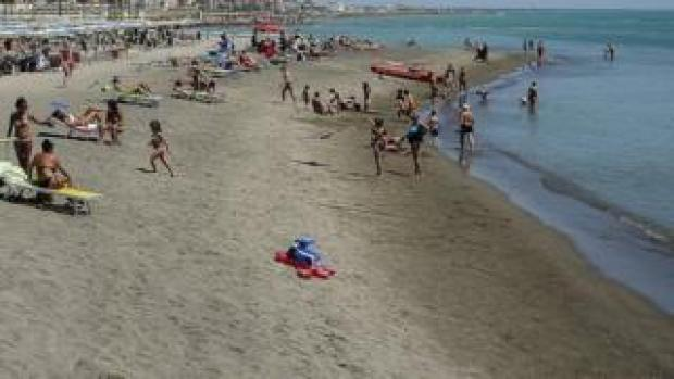 File pic of Italian beach