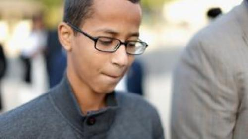 Ahmed Mohamed was arrested after bringing a homemade clock to school