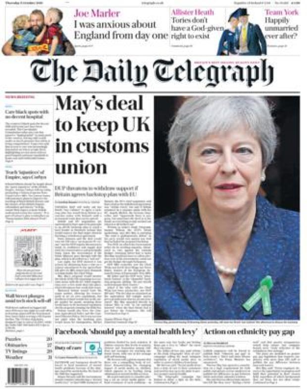 Telegraph - 11 Oct